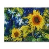 Michelle Calkins 'Sunflowers' Canvas Art