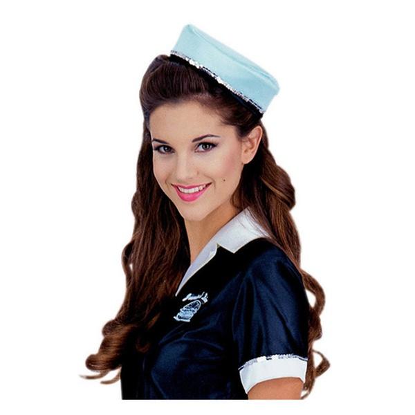 d68cc32b8774 Car Hop Costume Adult 50s Girl Diner Waitress Halloween Fancy Dress |  Groupon