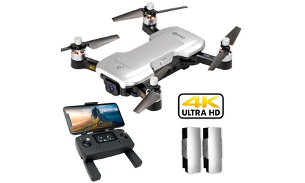 Contixo F30 4K Quadcopter UHD FPV GPS Foldable Brushless Drones(Case Included)
