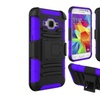 Insten Hard Hybrid For Samsung Galaxy Core Prime Black/purple
