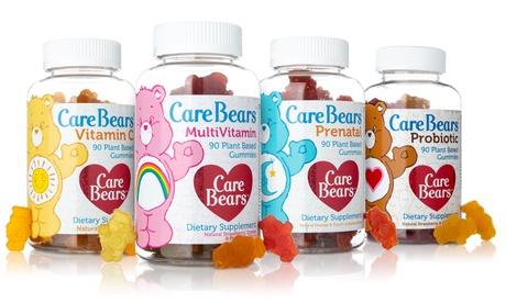 Vegan CareBear Gummy Vitamins - Multivitamin, Vitamin C, Prenatal or Probiotic