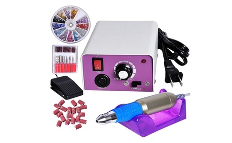 Manicure Tool Pedicure Electric Drill File Nail Art Machine Kit Set 9fb27698-70bc-41e5-b7ca-fef6fa9b6cd4