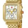 Michele Deco Gold Diamond MWW06P000100 Diamond Dial Watch