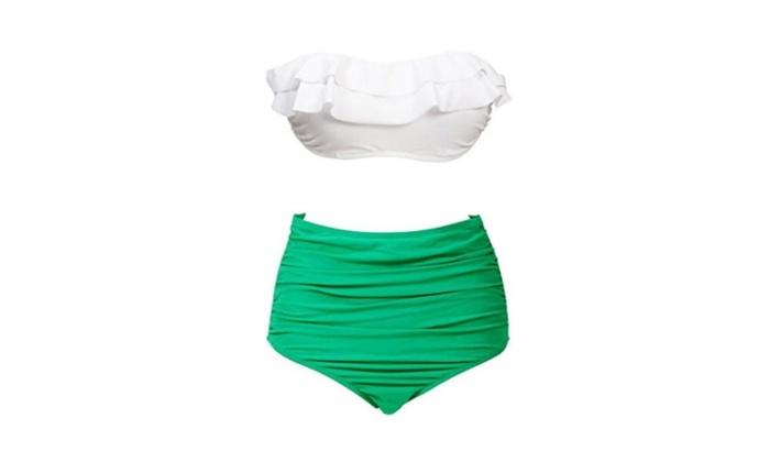 High Waist Bikini Wearlizer Two Piece Summer Swimwear