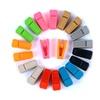 20pcs Plastic Clip Plastic Slim-line Finger Clip for Removable Hanger