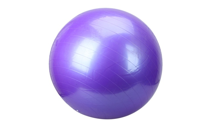 Anti-Burst Yoga Ball 75/85cm Exercise Pilates Balance Gymnastic Fitnes