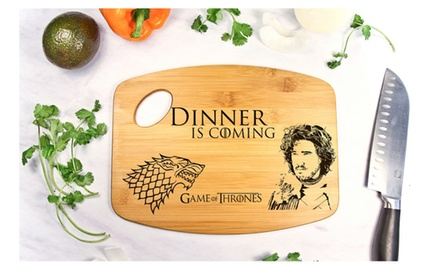 Game of thrones cutting board groupon for 12 in 1 game table groupon