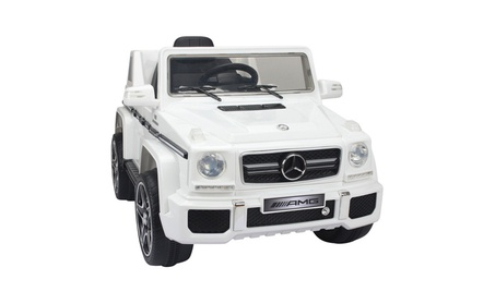 Best Ride On Cars Mercedes G-63 Battery Powered Riding Toy 5c8abee3-45f3-4357-84a4-2b37e7e7b293