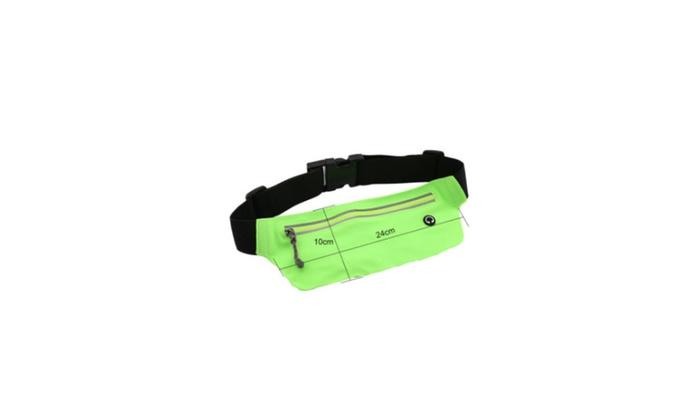 Sports Runner Waist Bum Waterproof  Bag Running Belt Pouch Zip Fanny
