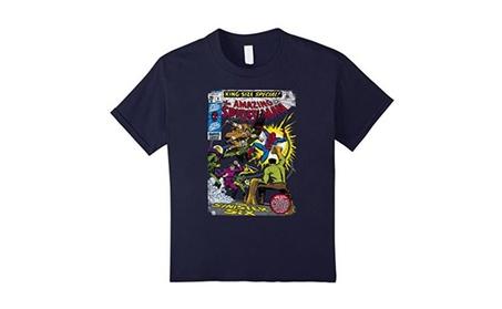 Spider-Man Sinister Six Comic Graphic T-Shirt 307dec90-abf0-465f-b16a-2602eeb91950