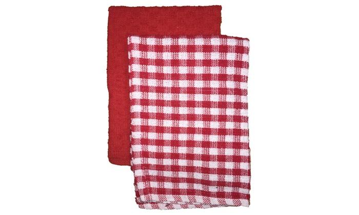 4 Pcs 100 Cotton Kitchen Towel Size 16