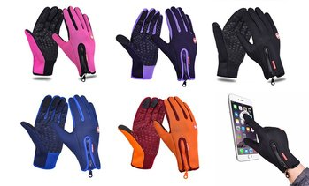 New Waterproof Winter Ski Camping Gloves Touchscreen Thermal Sensor Gloves