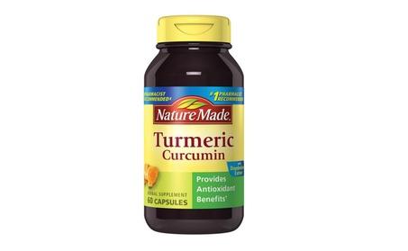 Turmeric Curcumin 500 mg. Capsules (Antioxidant) 60 Ct