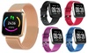 Touch Screen Health Companion Wearable Smartwatch for Apple Android Fitbit Versa