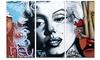 Urban Graffiti Art -Street Art Metal Wall Art