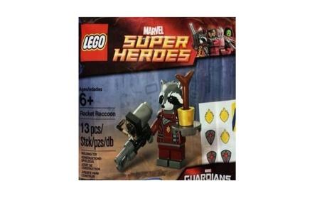 LEGO Marvel Super Heroes Rocket Raccoon Minifigure Polybag ade03bae-b168-48fd-8ebe-dffdf61aa243