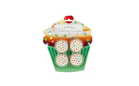 Mini Polka Dot Print Baking Cups ca919e93-a326-4d84-9fc5-9871be4b3568