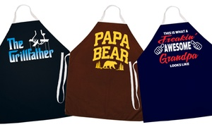 Aprons for Dads and Grandpas