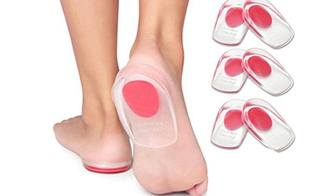 Silicone Gel Insole Heel Inserts Pads Heel Cups Protectors 271869ee-12cb-469d-9781-6403e56c3e52