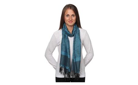 Women's Classic Pashmina Silk Scarf Wraps Shawl Stole Soft Scarves 3c559536-170f-4bc7-8d83-8e9a611a43af
