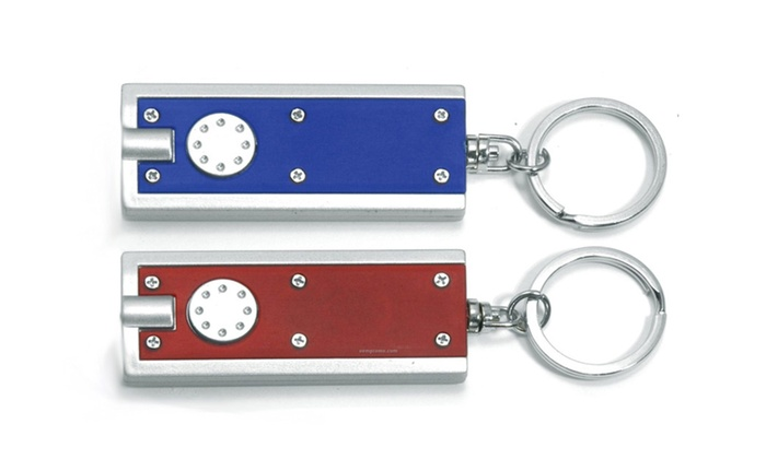 Buy It Now : LED Light Super Bright  Key Chain (Pack of 2) Batteries Included