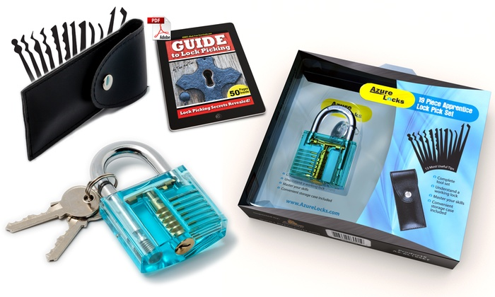 Up To 64% Off on Lock Pick Set Complete 19 Pie    | Groupon