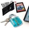 Lock Pick Set Complete 19 Piece - With Transparent Padlock