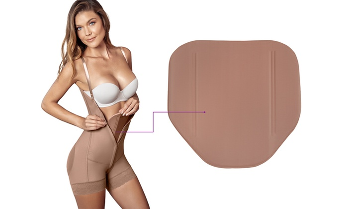 c62ad3757 Post Surgery Abdominal Board Waist After Liposuction Shapewear Compression  Brown Other One Size