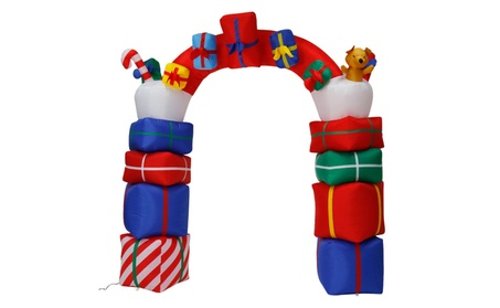6.6' Inflatable Santa Arch Archway Christmas Decor Airblown Outdoor c0c92077-64b5-4102-844a-98bb3a7d5789