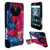 Insten Designed Hard Hybrid Plastic Case stand For ZTE Grand X3/Warp 7