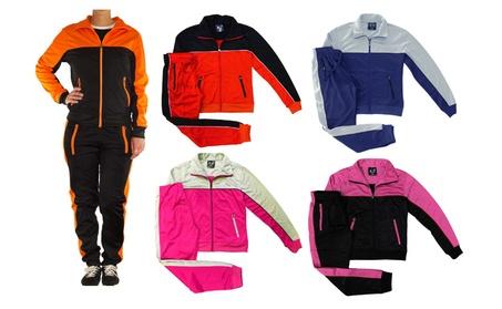Athletic Women's Jogger Sports Gym Activewear Tracksuit Outfit Set ff4b7c97-10dc-42fc-923d-7016624ecc63