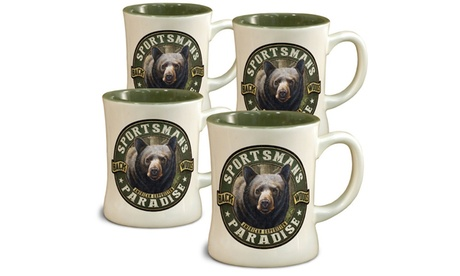 American Expedition Diner Mugs - Set of 4 d0239e90-3d54-4913-b57a-19f610064411