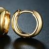 Women's 6MM Plain Huggie-Hoop Earrings