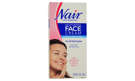 Nair Moisturizing Face Cream For Upper Lip Chin And Face Hair Removal Cream d0229a2c-a9a0-4241-8e47-615c749cbf20