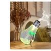 LED Light Bulb Ultrasonic Humidifier Air Infuser