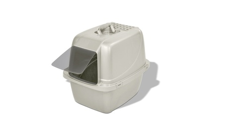 Van Ness CP6 Enclosed Cat Pan/Litter Box, Large, Colors may vary 9c018408-ea5c-46ce-afb0-3f9005cbbe1c