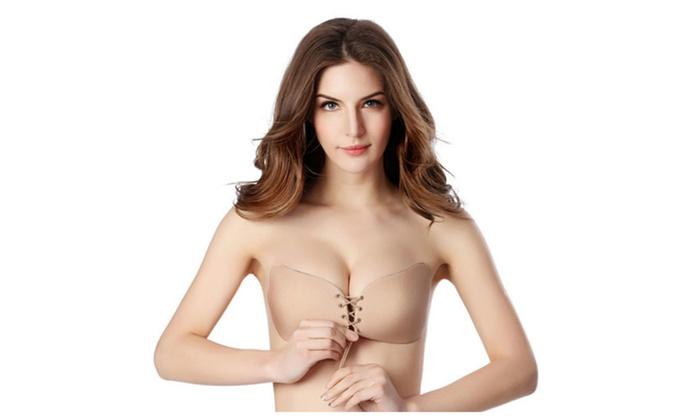 Women Push Up Bra with Drawstring