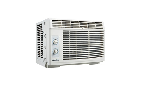 Danby 5000 BTU Window Air Conditioner, Cools 150 sq. ft w/ 2 Fan Speeds photo