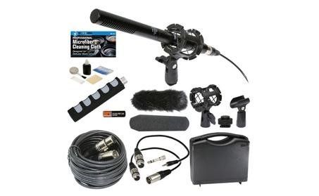 Professional Advanced Broadcast Microphone & accessories Kit for DSLR 9f2c9211-3f0f-4da6-bbb1-32fa19602451