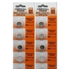 Loopacell CR1216 3V Micro Lithium Button Coin Cell Batteries 10 Pcs