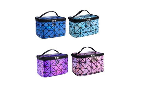 Multifunction Travel Cosmetic Bag Makeup Case Pouch Organizer