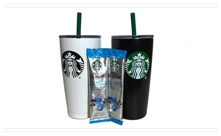 Starbucks Signature Tumbler Black/White b4ad7bb1-8cc5-4c37-8e4d-4a49d6ed7515