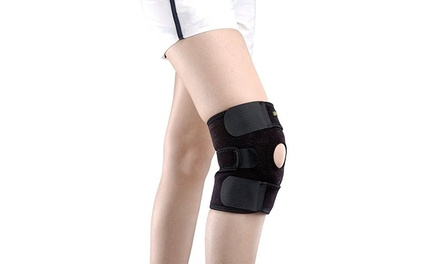 Breathable Compression Knee Support Brace with Adjustable Straps