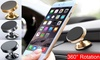 360 Degree Universal Car Cell Phone Holder Magnetic Air Vent Mount