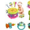 5Pc Drum Musical Instruments Band Kit Kids Toy Gift Set