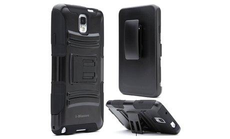 i-Blason Samsung Galaxy Note 4 Case - Prime Series Holster - Black