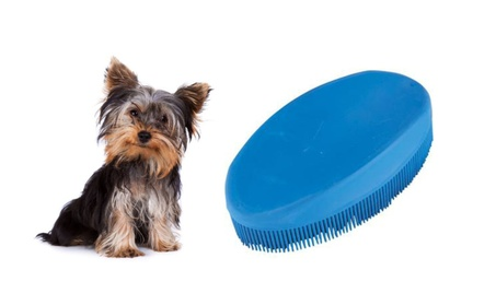 Hygienic Lint Removal Pet Brush No Surfaces Perfect For Pet Grooming c80623e6-9a6f-4857-b39c-0c7f09768ea7