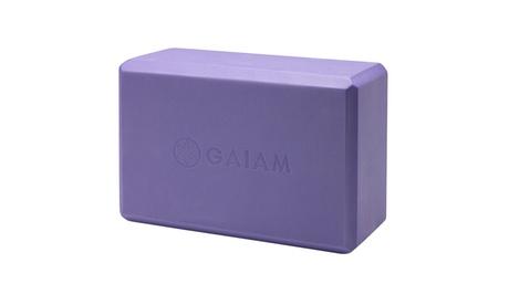 Gaiam Yoga Block e585db36-08de-460a-bc3c-2cfbc6497865