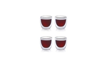 2oz Double Wall Espresso Cups (Set of 4) 366dc1e5-d4a4-4c36-998e-11f60a8c747e