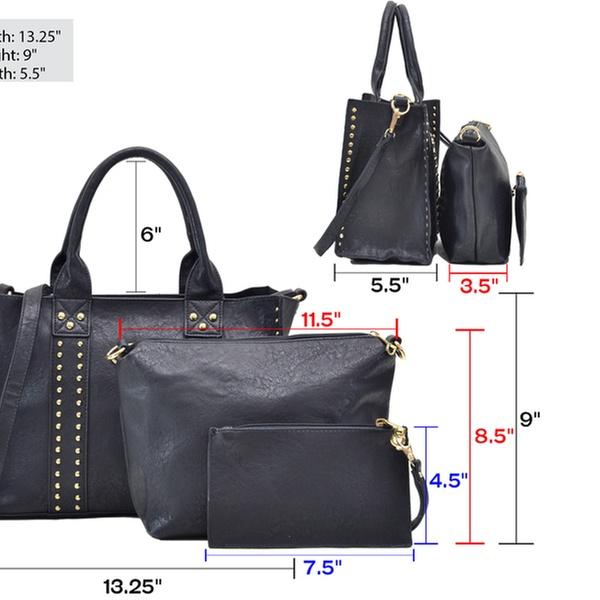 db93983aae433c MK Belted Collection Satchel Bag, Crossbody, and Wristlet Set (3-Pk.) |  Groupon